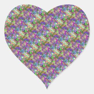 Sassy Fun Color Maze Sissy Girl Camo Colorful Girl Heart Sticker