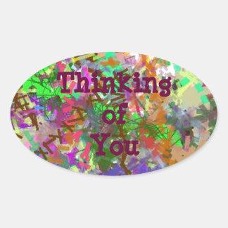 Sassy Fun Color Maze Sissy Girl Camo Colorful Girl Oval Sticker