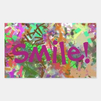 Sassy Fun Color Maze Sissy Girl Camo Colorful Girl Rectangular Sticker