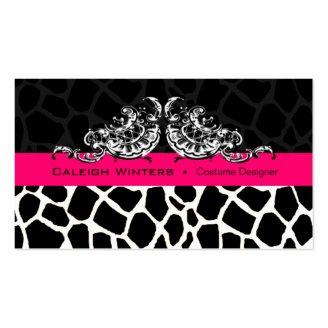 Sassy Giraffe Scallop - Animal Print Designer