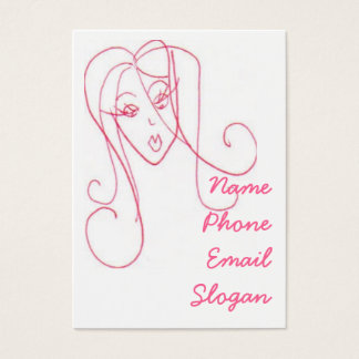 Sassy Girl Business Card