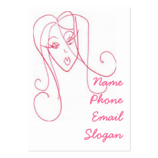 Sassy Girl Large Business Card