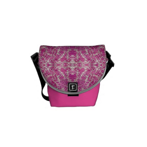 """Sassy Girl"" Mini Messenger Bag"