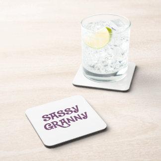 Sassy Granny Grandmother Beverage Coasters