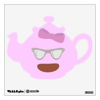 Sassy Granny Teapot Wall Sticker