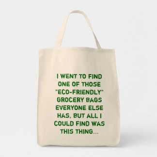sassy grocery bag