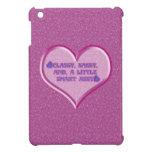 Sassy Heart Case For The iPad Mini
