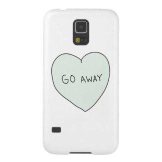 Sassy Heart: Go Away Galaxy S5 Cover