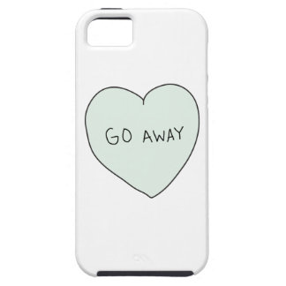 Sassy Heart: Go Away iPhone 5 Cover