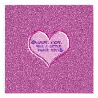 Sassy Heart Photographic Print