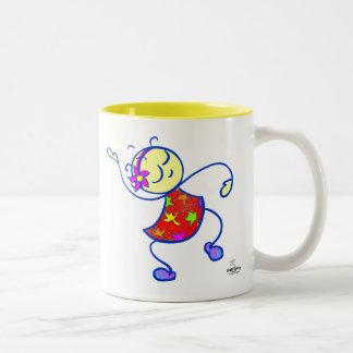 SASSY I feel like dancin'  2-color mug