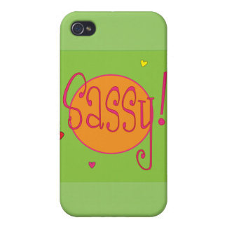 Sassy IPhone Case Cases For iPhone 4
