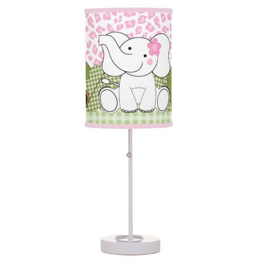 Sassy Jungle Safari Leopard Print Nursery Lamp