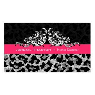 Sassy Leopard Scallop - Animal Print Designer