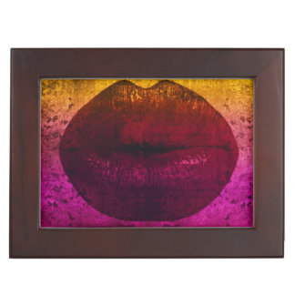 Sassy Lips Keepsake Box