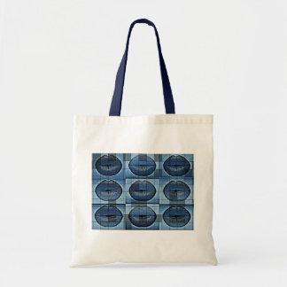 Sassy Lips pop Art budget tote Budget Tote Bag