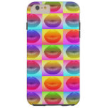 Sassy Lips Pop Art iPhone6 Plus Case Tough iPhone 6 Plus Case