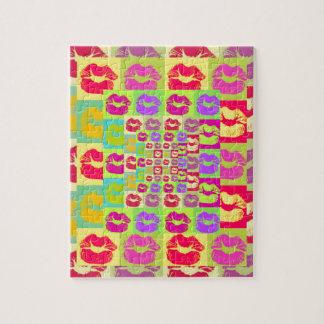 Sassy Lips POP Art Puzzle