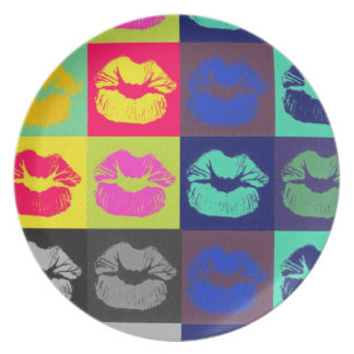Sassy Lips Tri Colors Plate