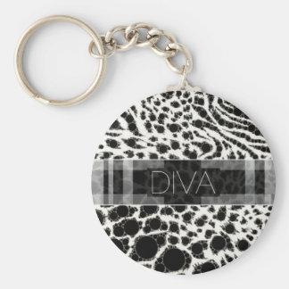 Sassy Little Diva Keychain