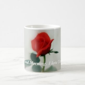 Sassy Looking Rose Mug
