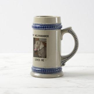 sassy, MY WEIMARANER, LOVES ME Mug