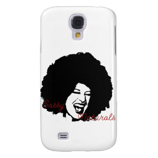 Sassy Naturals Afro Girl iPhone Cover Samsung Galaxy S4 Case