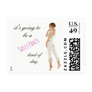 sassy pants day postage