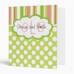 Sassy Personalized Wedding Binder
