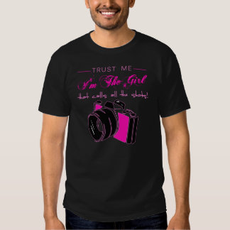 Sassy Photography Photographer Camera Girl T Shirt