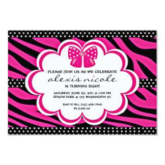 Sassy Pink Invite