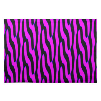 Sassy Pink Wild Animal Print Cloth Placemat