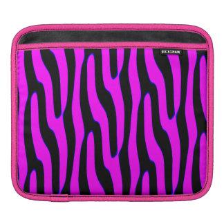 Sassy Pink Wild Animal Print iPad Sleeve