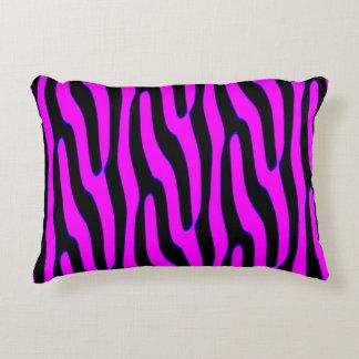 Sassy Pink Wild Animal Print Accent Pillow
