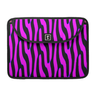 Sassy Pink Wild Animal Print Sleeve For MacBook Pro