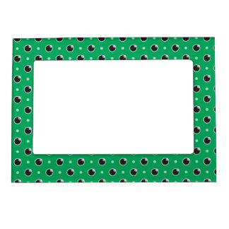 Sassy Polka Dot Magnetic Frame - Green