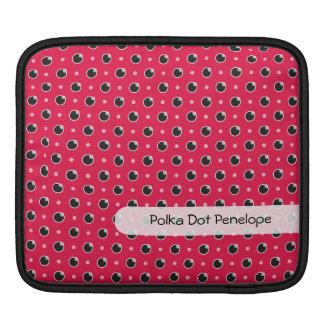 Sassy Polka Dots iPad/ iPad 2 Sleeve - Berry Pink