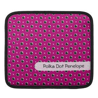 Sassy Polka Dots iPad/ iPad 2 Sleeve - Purple