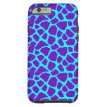 Sassy Purple Giraffe iPhone 6 case