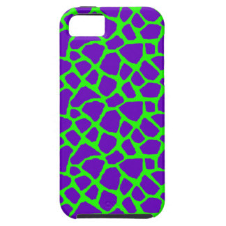 Sassy Purple Giraffe Print iPhone Case iPhone 5 Cases
