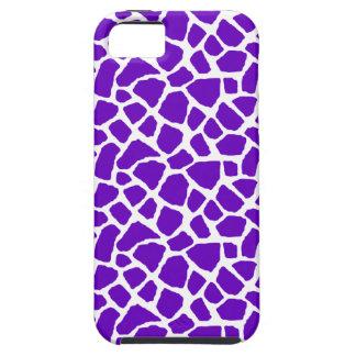 Sassy Purple Giraffe Print iPhone Case iPhone 5 Covers