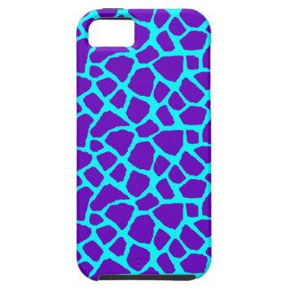 Sassy Purple Giraffe Print iPhone Case iPhone 5 Case