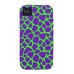 Sassy Purple Giraffe Print iPhone Case Vibe iPhone 4 Cases