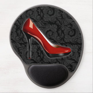 Sassy Red Shoe Gel Mouse Pad