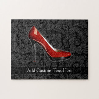 Sassy Red Shoe Jigsaw Puzzle