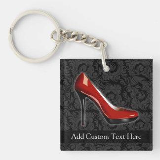 Sassy Red Shoe Keychain