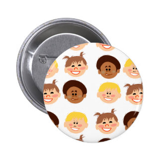 Sassy Retro Kiddos Button