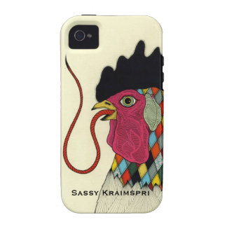 Sassy Rooster iphone 4 Covers