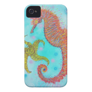 Sassy Sea Horse iPhone 4 Cover