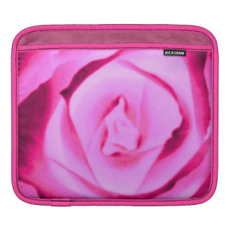 Sassy Sissy Girl Hot Pink Rose Nature Photo Fun Sleeve For iPads